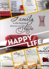 Removable Wall Vinyl Quote Word Letter Stickers Art Mural Decal Room Home Decor