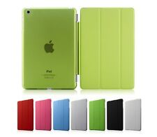 Magnetic PU Leather Folio Stand Case Smart Cover For iPad Mini 2 Air Sleep Wake