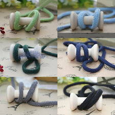 10 Meters 6mm Round Cord Drawstring Sewing Piping Craft Shoe Boot Lace Packing