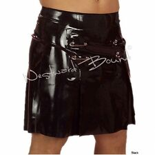 WESTWARD BOUND COUTURE Latex Rubber KILT SKIRT MENS Fetish wear Clothing