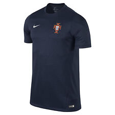 Nike Portugal USA World Cup WC 14 Soccer Training Jersey New Navy  Blue