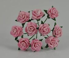 """Mulberry Paper  Rose LIGHT PINK 10mm 3/8"""" for scrapbook wedding greeting card"""