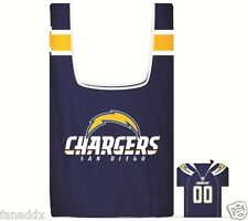 """NFL Reusable Eco-Friendly Shopping Bag In """"Jersey"""" Pouch"""