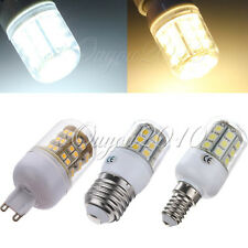 E27/E14/G9 48 SMD 1210 LED Warm/Pure White Light Lamp Bulb with Cover 220V 3W