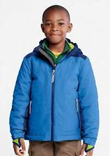 NWT Boys LANDS END Boreal Blue STORMER Jacket Winter Coat Size XL 18/20 hood