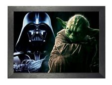 Star Wars 2 - Yoda - Darth Vader - epic classic film - A4 - A3 Poster