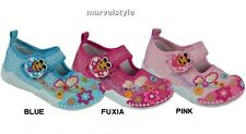 BABY GIRLS CANVAS SHOES NURSERY SLIPPERS TRAINERS UK size 4-7.5 /EU 20-25 GREAT!