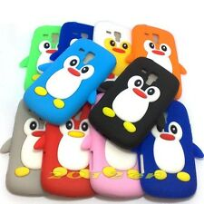 Cute 3D Penguin silicone back case cover for Samsung Galaxy Trend Duos S7562