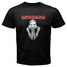 New CHICAGO Broadway Musical Show Famous Men's Black T-Shirt Size S to 3XL