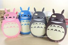 3D Cute Cat My Neighbor Totoro Silicone Case cover for Apple iphone 6S plus 5s