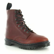 Dr Martens Hadley Mens Leather 8-Eyelet Boots Oxblood