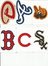MLB gumball stickers all new for 2014 your choice of all 30 teams