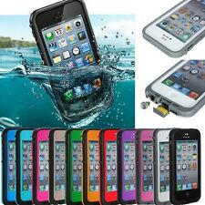 NEW Waterproof Shock/Dirt/Snow Proof Durable Iphone 5/5S Case USA Seller