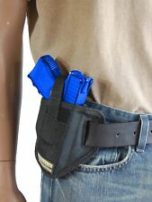New Barsony 6 Position Ambidextrous Pancake Holster for Glock Compact 9mm 40 45