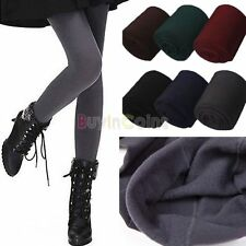 Winter Warm Women Skinny Slim Leggings Thick Stretch Footless Tights Pants