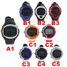 New Sports Exercise watch w/ Pulse Heart Rate Monitor Wrist Watch