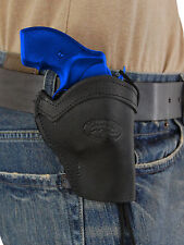 """NEW Barsony Black Leather Western Style Holster for S&W 22 38 357 Snub Nose 2"""""""
