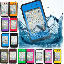 Colorful Waterproof Shockproof Dirt Durable Case Cover For iPhone iPod Touch 4 G