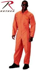 Orange Military Style Flight Suit Air Force Style Fighter Flight Coveralls 7415