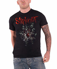 Slipknot Shattered Official Mens New Black T Shirt