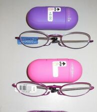 Foster Grant Compact Folding Reading Glasses Gwendolyn Retails $27.99 +2.00