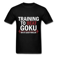 Train Insaiyan Gym T-Shirt Training to Beat Goku or Krillin DBZ Dragon Ball Z
