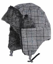 L Brador Russian Cossack / Ushanka hat with ear warmers, New NWT Priced to Clear