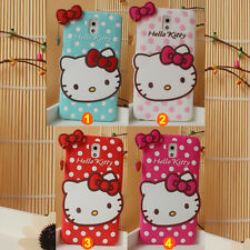3D Hello Kitty Chat Silicone étui housse coque pour Samsung Galaxy NOTE 3 N9000