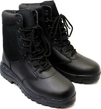"Tactical Boots 8"" Black Police Military Security EMT EMS Tactical Boots 5064"