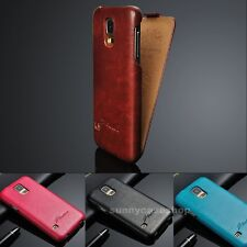 NEW Business Pouch Wallet leather Case Cover skin For Samsung Galaxy S5 SV I9600