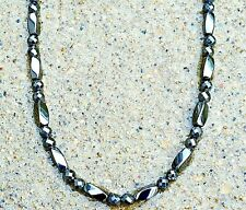 Men's Women's All Magnetic Necklace SUPER STRONG Faceted! WOW! Free Shipping