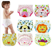 Cow Dog Duck Lion Diaper Baby Boy Girl Toddler Toilet Pee Potty Training Pants