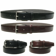 Vitali Excellent Italian Leather Trouser Suit Belt 35mm Made in Italy 3918