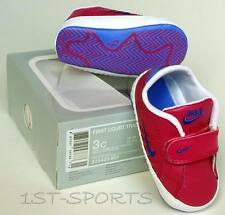 BABY GIRLS NIKE FIRST COURT TRADITION LEATHER CRIB VELCRO SHOES, TRAINERS