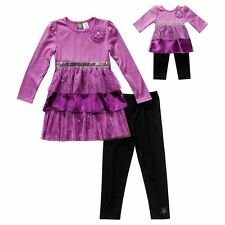 Dollie & Me Girl 7-12 and Doll Matching Dress Outfit Clothes Set American Girls