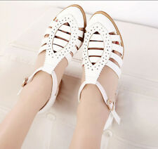 Hot 2014 spring and summer sandals  retro hollow carved wood British style shoes
