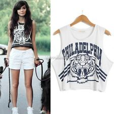 New Womens Animal Dope tiger Disobey Obey Ladies Jersey Vest Top loose T-shirt