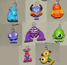 Monsters Inc. / University Zipperpull Backpack Charm Keychain Mike Sully Don
