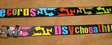 ICP Insane Clown Posse Officially Licensed Belt Psychopathic Records 2010