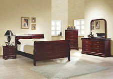 Brand New Bedroom Set Quee Full Twin Size Bed Set Bedroom Furniture Set Cherry