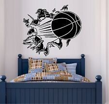 Basketball Through the Wall ~ Wall or Window Decal