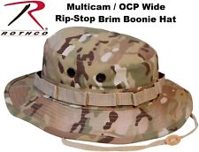 Multicam Camouflage Military Tactical Wide Brim Bucket Hunting Boonie Hat 5892