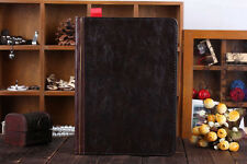 Retro Ancient Vintage Old Book Style Stand PU Leather Case Cover iPad Air 5 5th