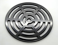 """7.5"""" Round Metal steel Gully Grid Heavy Duty Drain Cover like cast iron"""