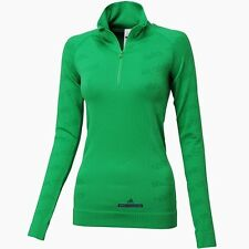 Adidas By Stella McCartney  WS Performance Seamless L/S Top Green G76512 S,M,L