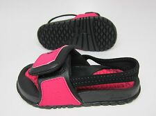NEW BABY JORDAN HYDRO 2 SANDALS TODDLERS [487574-609] Voltage Cherry-Black-Blk