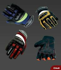 Gloves Child Motocubo Youth Baby Blue Yellow Fluo Protections