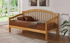 Happy Beds Savannah Quality Wooden Day Bed Bedroom Livingroom Furniture New