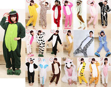 Unisex Adult Kigurumi Pajamas Cosplay Costumes Anime Onesies Dress Sleepwear