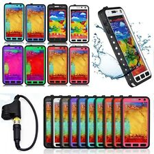 Colorful Excellent Waterproof Shockproof Case Cover For Samsung galaxy Note3 III